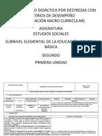 Pud(Micro) Estudios Sociales Segundo 2017