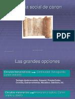 Historia Social Del Canon