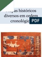 AULA MAPAS CRONOLÓGICOS