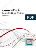 Install Guide Omnet++ 5.3
