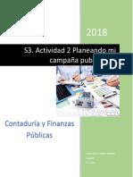 Contaduría y Finanzas Públicas Propuesta Publicitaria