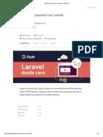 Módulo de Usuarios Con Laravel – Styde.net