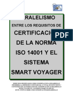 Paralelismo 14001 Smart Voyager C&D, similarity, resemblance -  between smart voyager and ISO 14001 Standard, Make a donation@ccd.org.ec / Haga una donación, turismo sustentable smart voyager