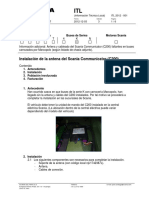 ITL 2012 - 001 Instalación de La Antena Del Scania Communicator (C200) - 3ra Edición