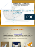 Diapo Acusticaa Fibra de Lana de Vidrio