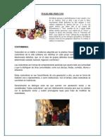 Folclore Peru Trabajo 2018