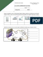 Evaluacion Ciencias Electricidad