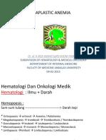 KP 1 Anemia Aplastik