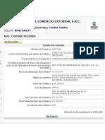 Dispendio BANCOMEXT FCH