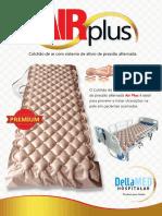 Manual Colchão de Pressão Alternada Air plus Dellamed