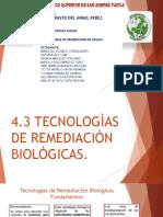 Expo Tec de Remediacion Biologicas