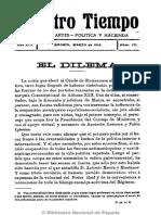 Nuestro Tiempo (Madrid). 3-1913, No. 171