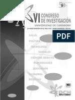 VI Congreso de Investigación de La Universidad de Carabobo