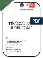 Finanzas Para Ingenieria