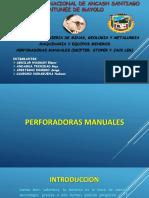 PERFORADORAS MANUALES