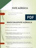 conjutivite alérgico