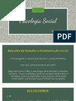 Psi Social_Aula 01_O Indivíduo e as Instituições