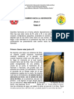 Tema 7 - El Camino Hacia La Adoración (Parte 1)