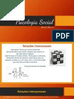 Psi Social_Aula 03_Relacionamento Interpessoal, Comunicação e Feedback