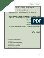 FUNDAMENTOS DE MICROECONOMÍA GUÍA