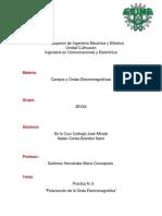 Polarización de La Onda Electromagnética