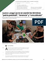 Nuevo Código_ Ya No Se Usarán Los Términos _patria Potestad_, _tenencia_ y _concubinato_ _ La Voz Del Interior