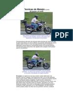 Tecnicas de Manejo en La Moto