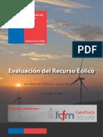 Informe Eólico - Cabo Negro Punta Arenas