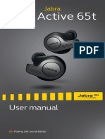 Jabra Elite Active 65t User Manual en RevA