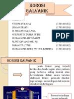 KOROSI GALVANIK PPT
