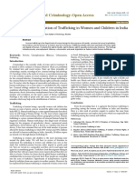 Criminological Explanation of Trafficking in Women and Children in India 2375 4435 1000e102
