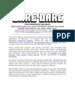 Dare-dare Gala Press Release Eng