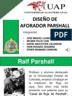 Diseño Aforador de Parshall