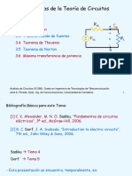 Presentacion Teoremas Thevenin