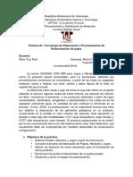 Práctica 1. Tecnología de Elaboración y Procesamiento de Pasteurización de Jugos.