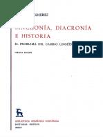 Coseriu Eugenio - Sincronia Diacronia E Historia (Gredos).pdf