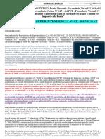 RS 621- 2017. Nuevas Versiones de PDT