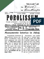 PRESA Porolissum 1933-01