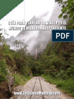 Guía Para Planear Un Viaje Por El Mundo de Manera Independiente