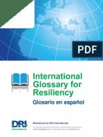 Glossary Spanish DRI 2015