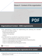 Iso27001 2013 clause4 Context of organization
