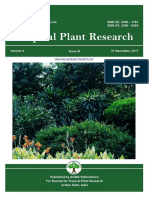 Volume 4, Issue 3 (2017) Tropical Plant Research