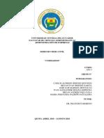 DERECHO MERCANTIL - COMISARIOS GRUPO N°