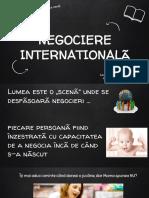 negociere internationala
