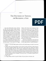The Doctrin of Theosis or Becoming a God
