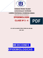 Clase 3 - 4 Mediciones Epidemiologicas Variablesdr Jose Perea Telesup 2018
