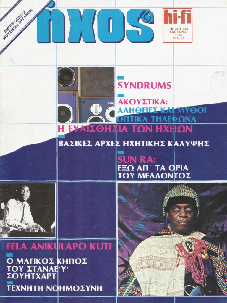 23ab94c88 ΗΧΟΣ & HiFi 1984, ΜΕΡΟΣ Α' (#130-135)