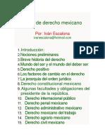 Derecho Mexicano Historia