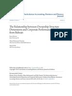 Ownership and Profitability