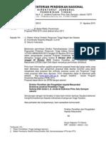 Surat Pengunduran Penerimaan Usulan PKM 2010